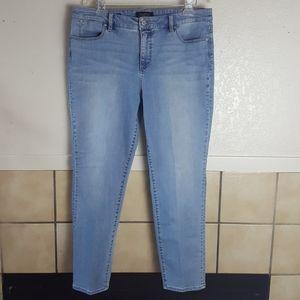 Talbots Flawless Five- pocket Slim Ankle Jeans 14